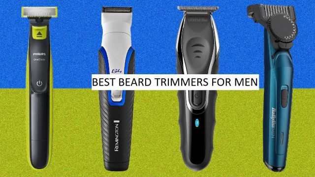 best trimmers for men in India, beard trimmers